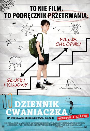 Polski plakat filmu 'Dziennik Cwaniaczka'