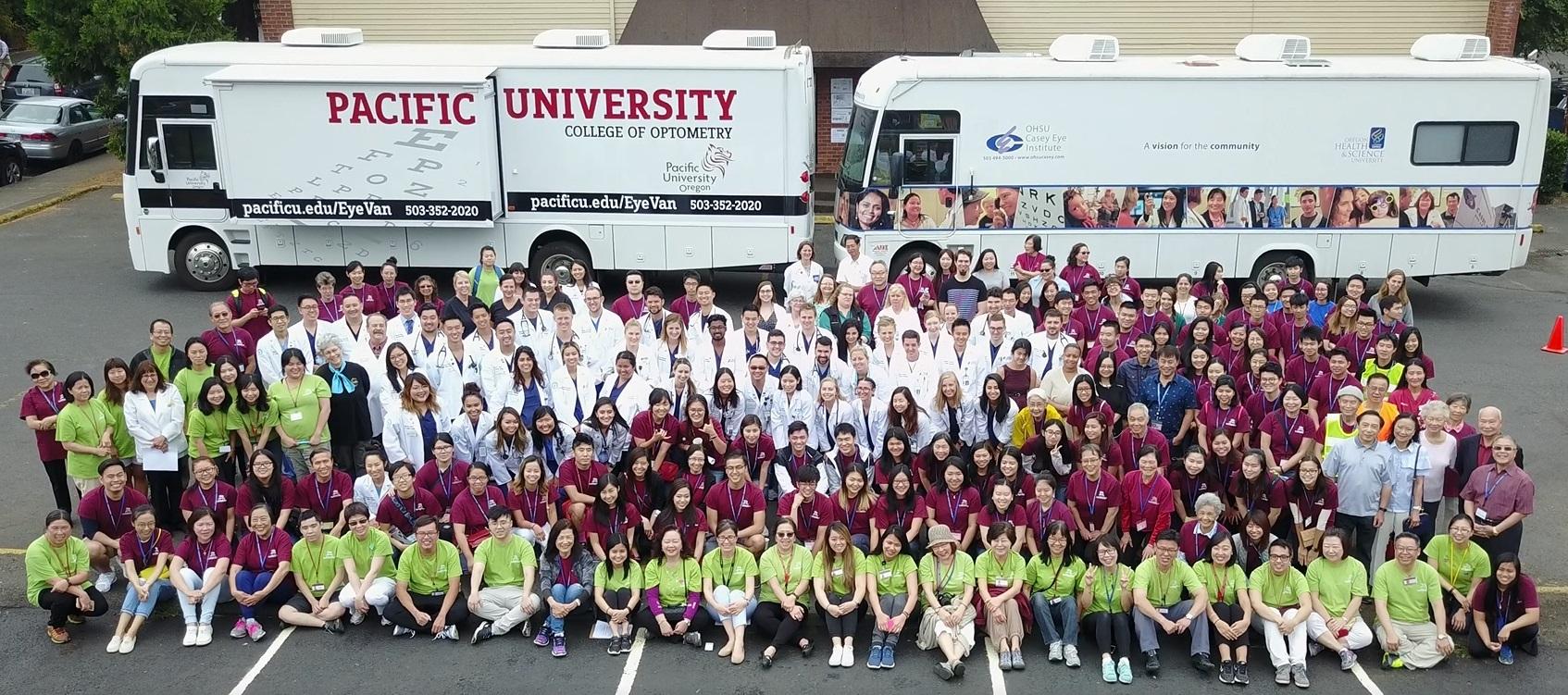 AHSC Staff, Volunteers & Providers At The 16th Annual AHSC Asian Community Health Fair In 2017.