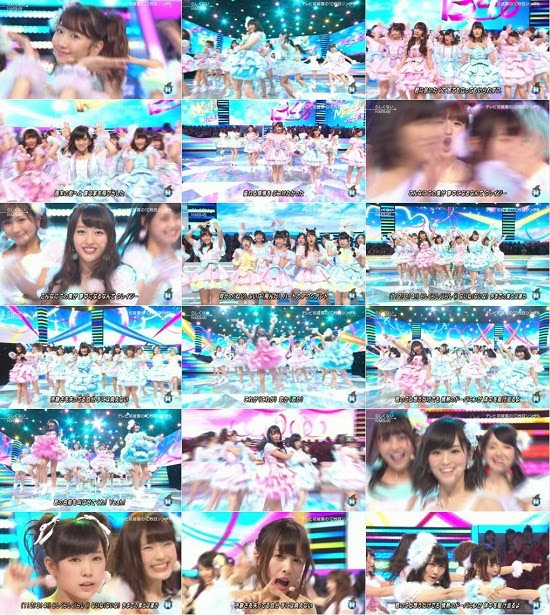 (TV-Music)(1080i) NMB48 part – Music Station 141031