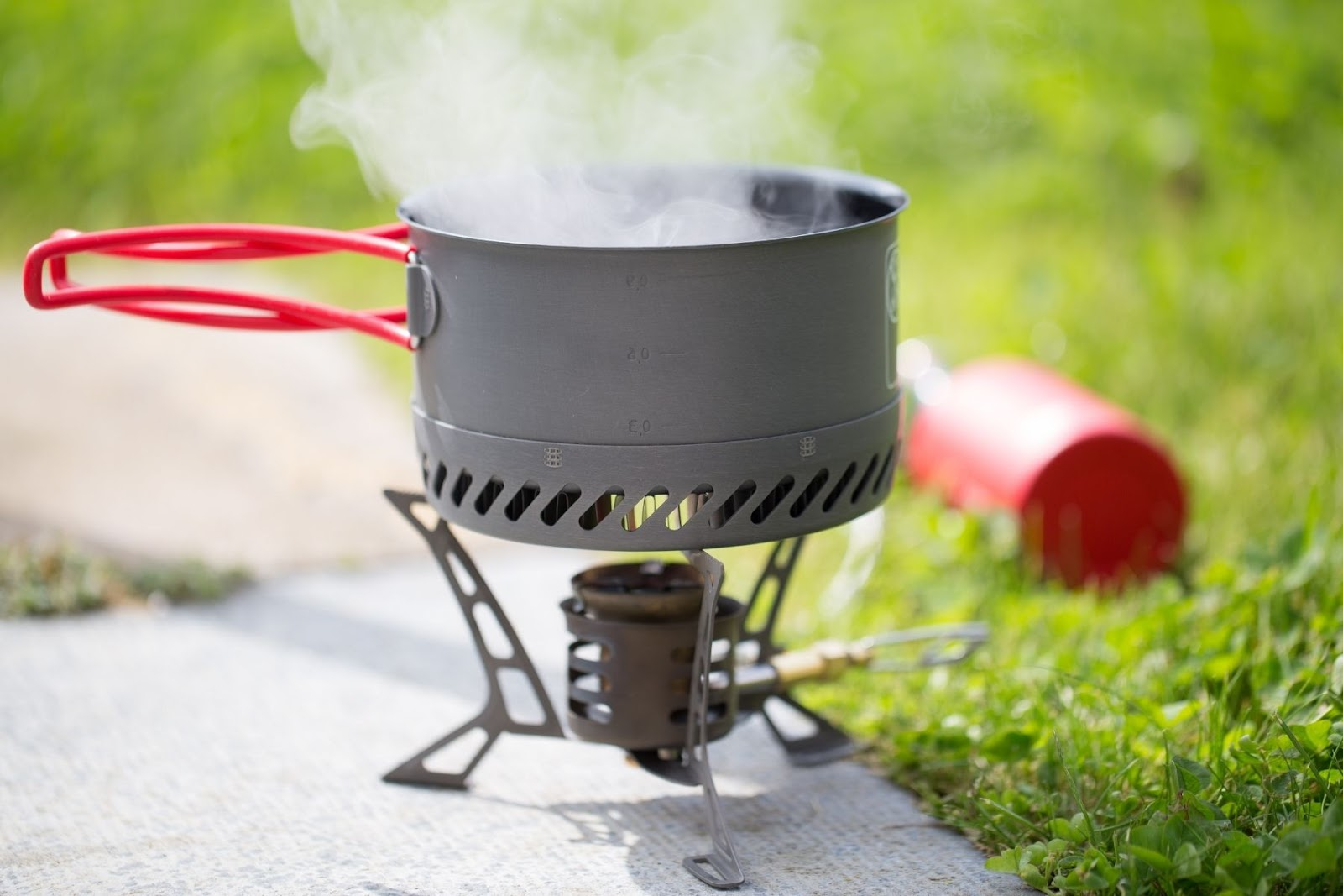 boiling water when backpacking