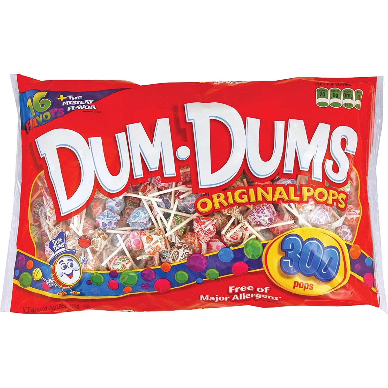 Dum dums pops