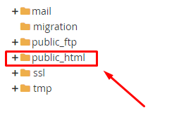 file manager public html