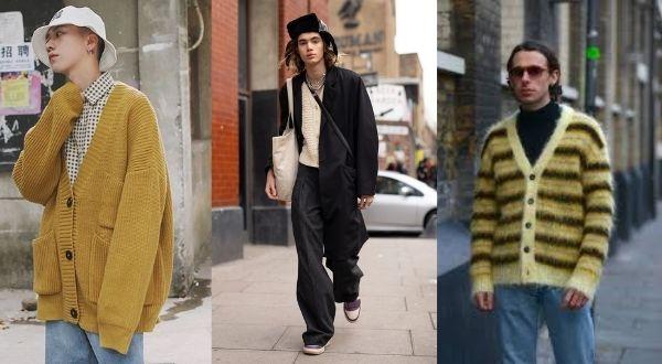 colorpop cardigan streetwear