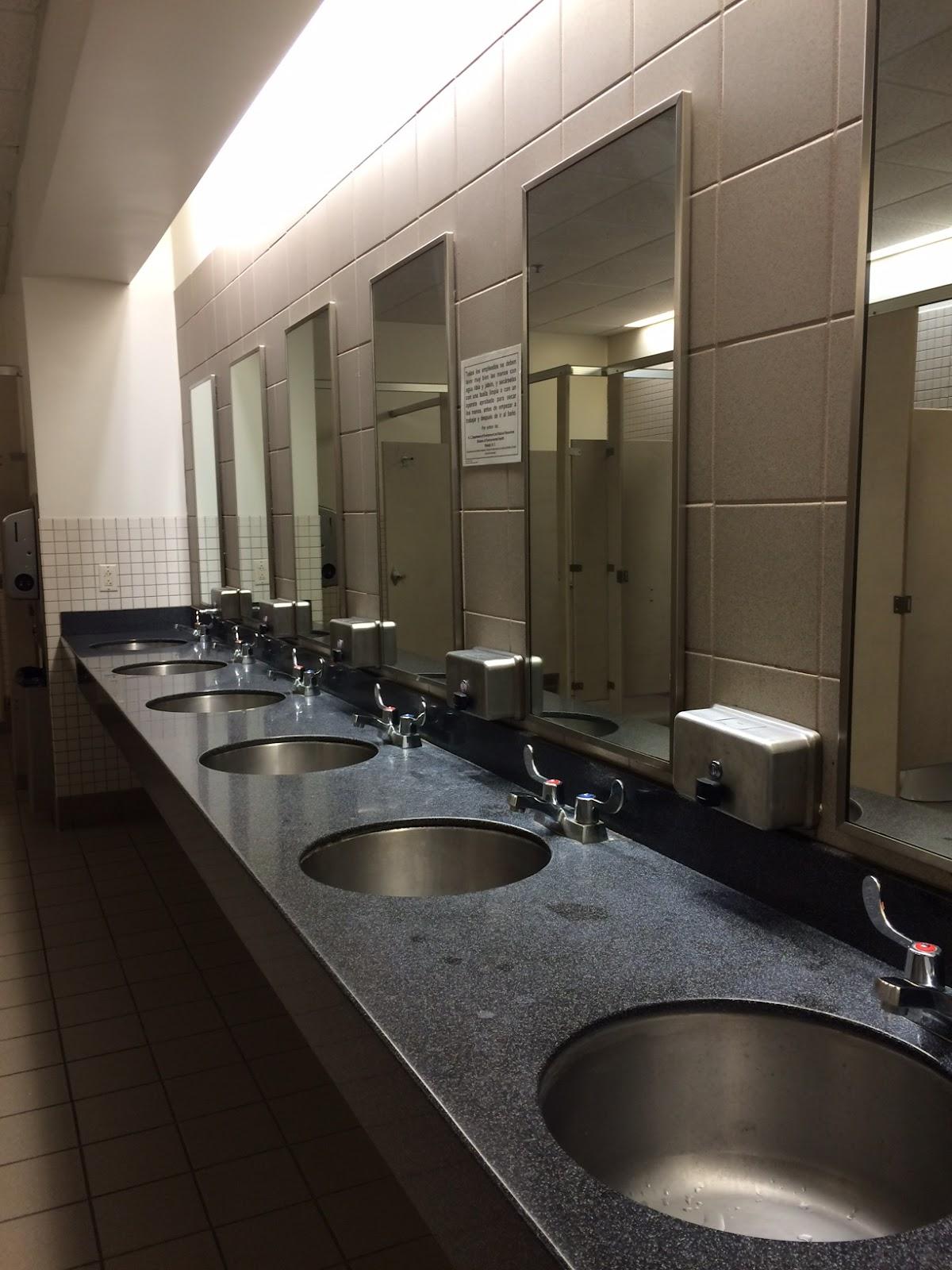 Less Traffic Than The Bathroom On The Union S Main Level Fairly Clean Fairly Good Atmosphere All Around An Ok Bathroom