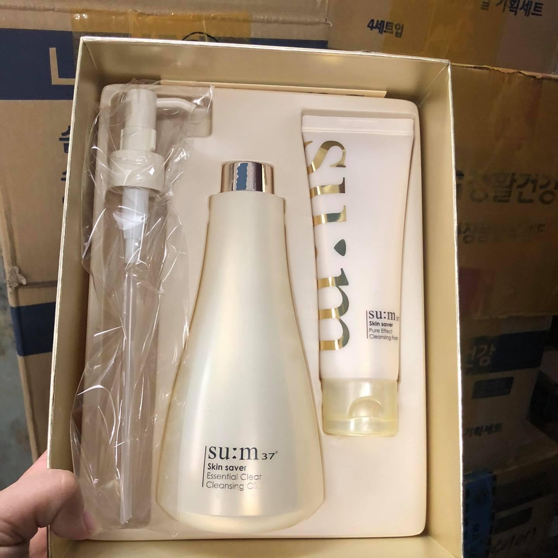 Bộ sản phẩm Su:m37 Skin Saver