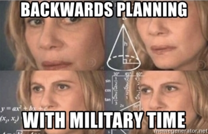 Planning a military event is captured in these 9 memes