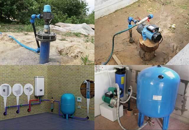 Способы проведения воды из скважины в дом