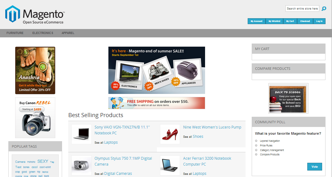 The Best Free Open Source Magento Templates 2014 Firebear