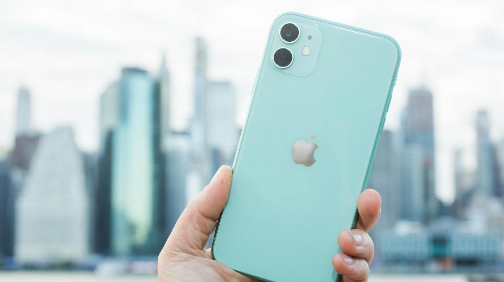 Защита Айфон от Эппл 11 64GB Green