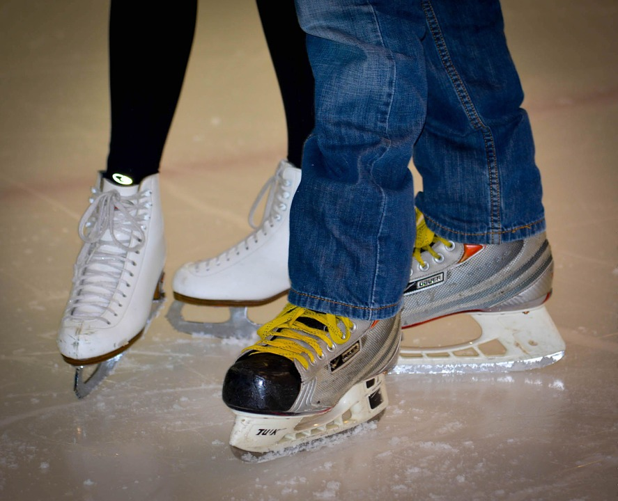 Skates, Figure, Ice, Skating, Ice Dancing, Pair Skating