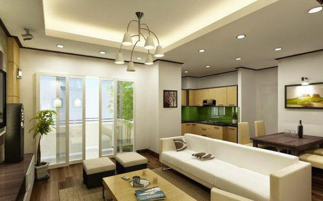 Căn hộ sở hữu không gian sống tiện nghi và hiện đại