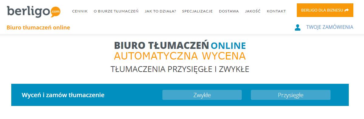CTA Fromularz zamówienia tłumaczeń