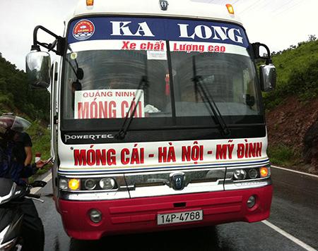 Xe Ka Long từ Hà Nội đi Quảng Ninh