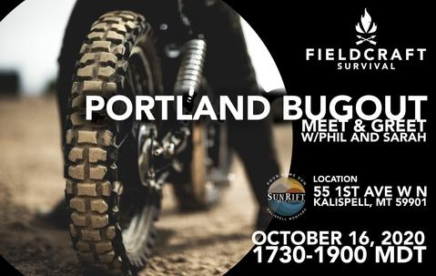 Fieldraft Bug Out Meet and Greet - Whitefish, MT