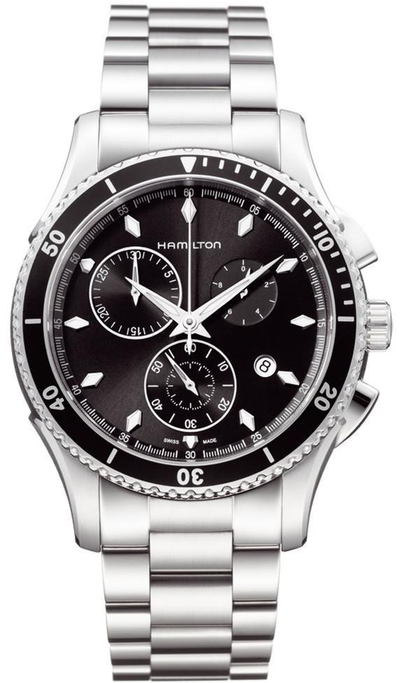 Hamilton Watch American Classic Jazzmaster Seaview Chrono Quartz H37512131