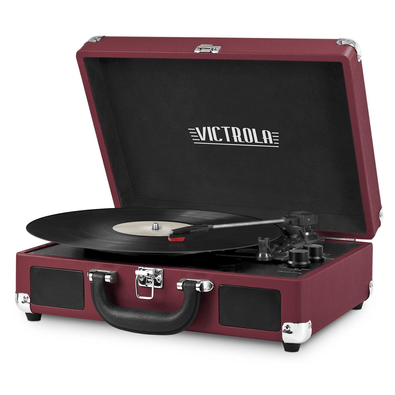 Victrola Vintage Turntable (Marsala)
