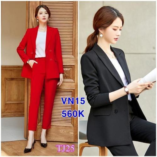 Set nguyên bộ áo Vest quần dài VN15