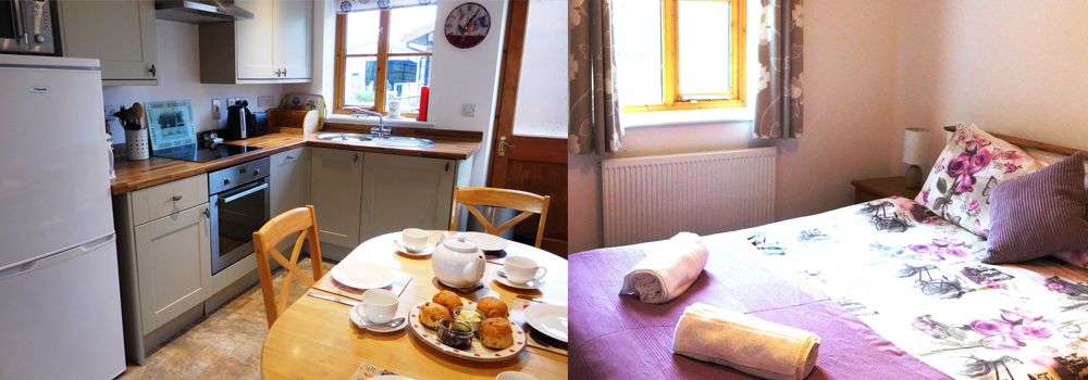 Beautiful shots of the holiday cottages available at Lower Campscott Farm