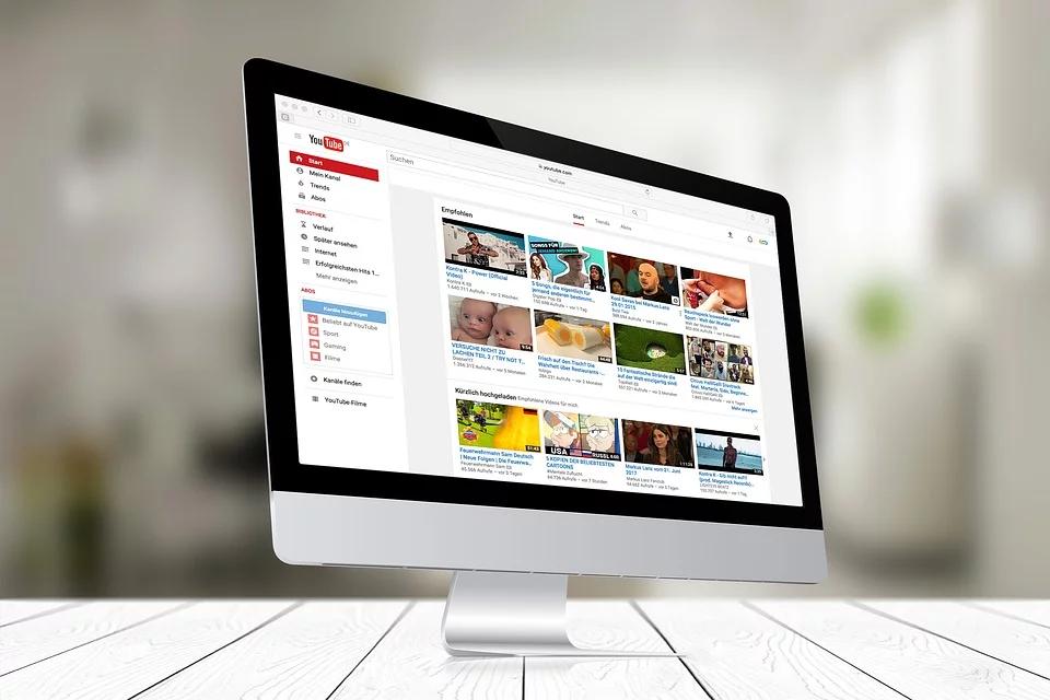 Youtube op een imac
