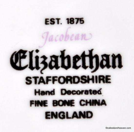 Elizabethan China backstamp