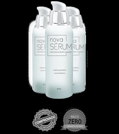 nova serum frasco
