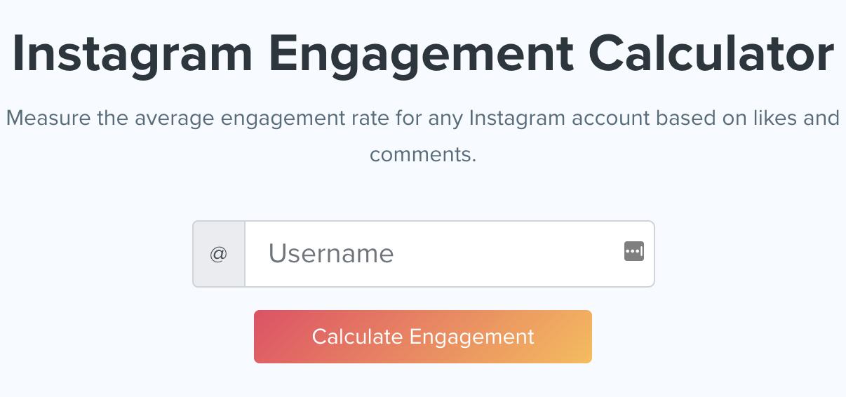 Kicksta engagement calendar