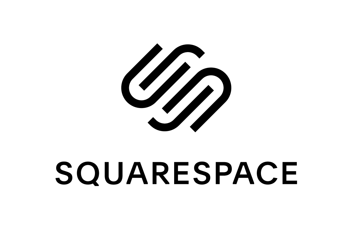 Logo for the website design company SquareSpace.
