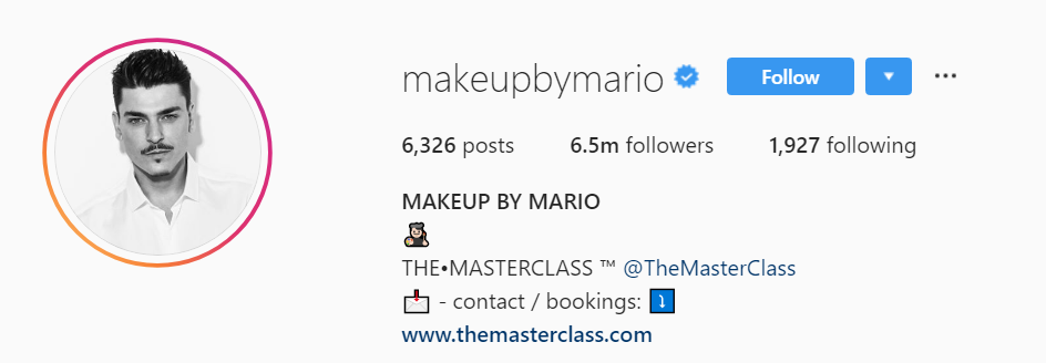 ig makeup artist