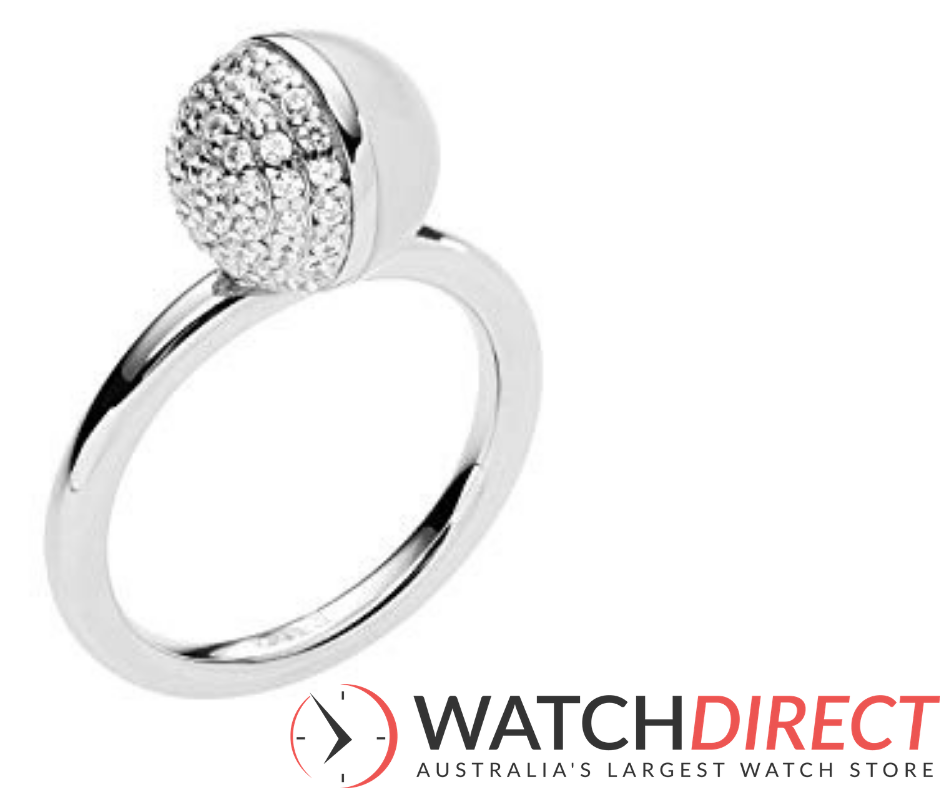 The Emporio Armani Women's Ring is the belle of the ball.