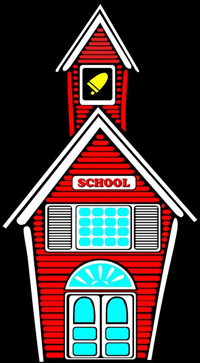 School, Building, Architecture ...