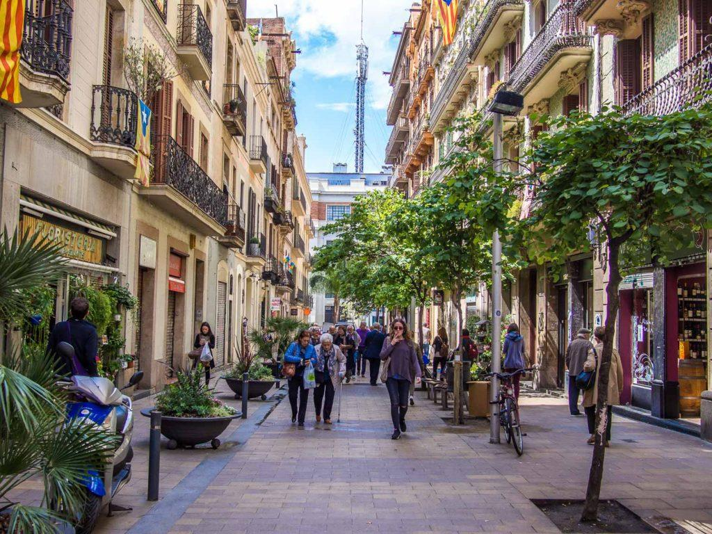 Image result for barrio gracia barcelona