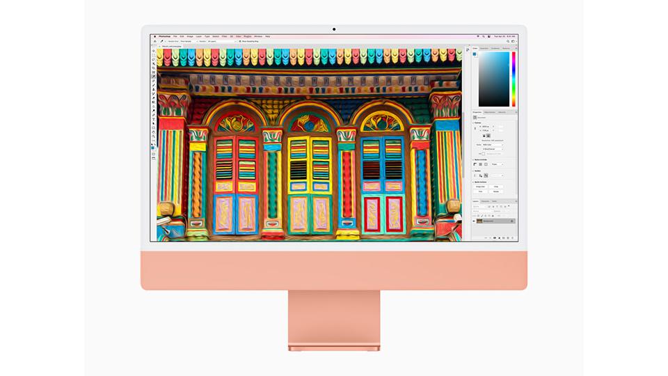 màn hình iMac M1 2021 24 inch Retina 4.5K