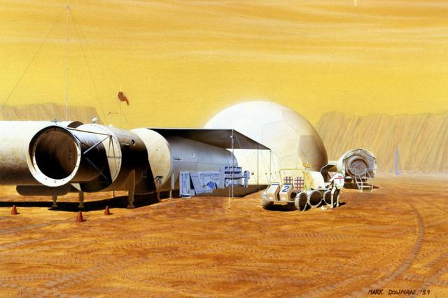 Sau khi định cư ở sao Hỏa, bị cô lập hoàn toàn, môi trường tự nhiên khác biệt và khắc nghiệt con người có thể trở thành một kiểu người hoàn toàn mới.