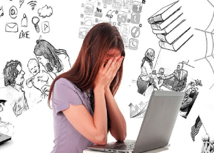Căng thẳng mệt mỏi là nguyên nhân gây kinh nguyệt màu đen