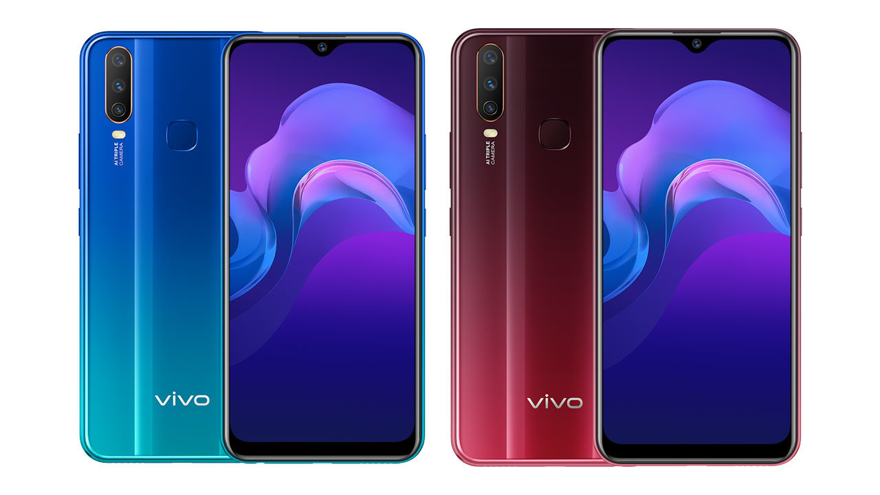 Vivo Y12 Specifications And Price