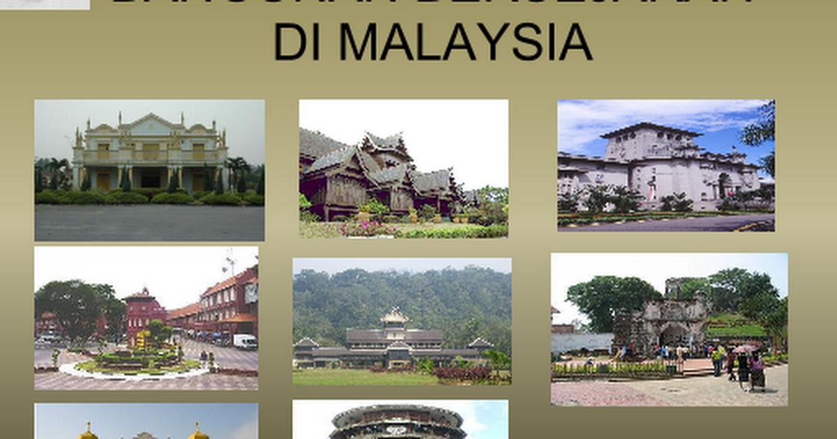 Bangunan Bersejarah Di Malaysia Pptx Google Slides