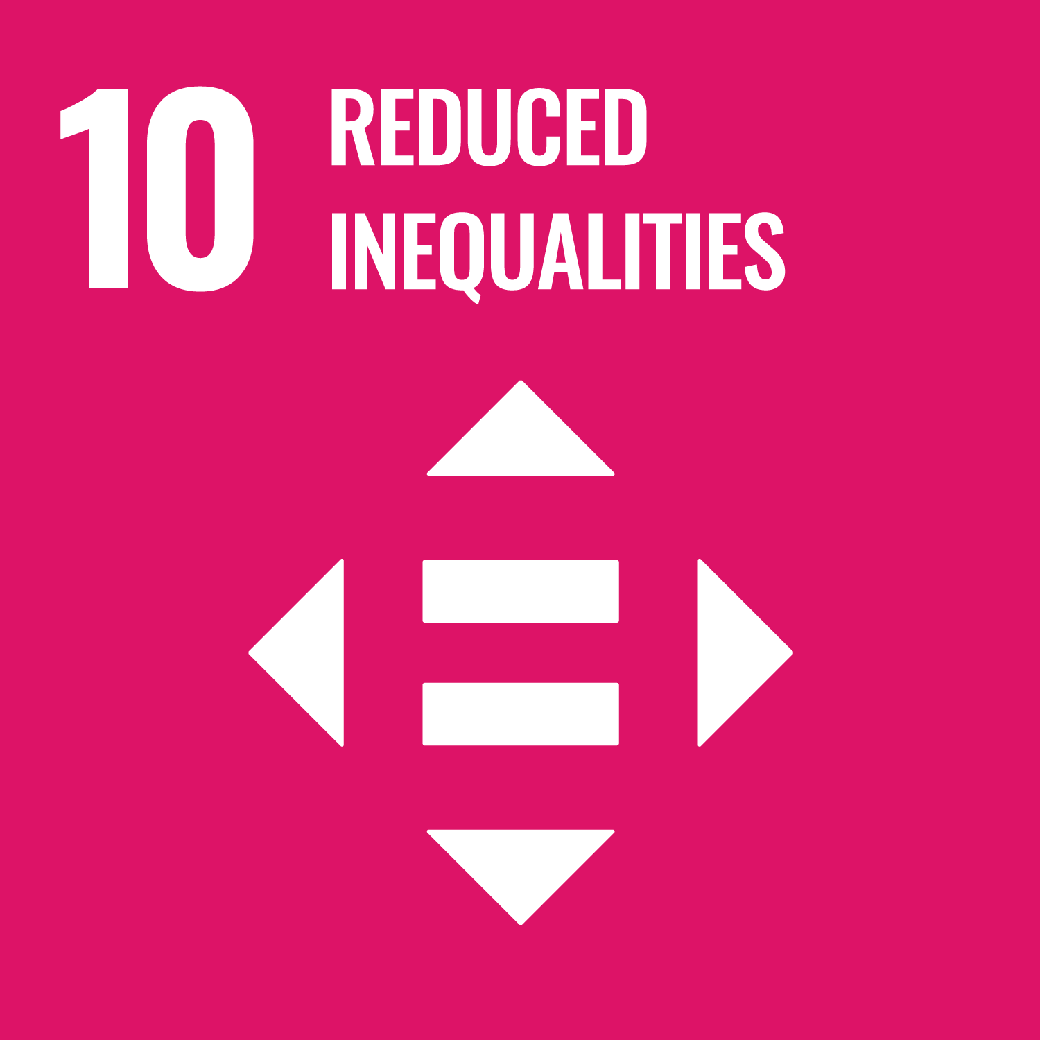 Sustainable Development Goal 10. Reduce inequality within and among countries.