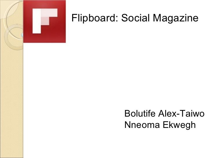 flipboard service magazine