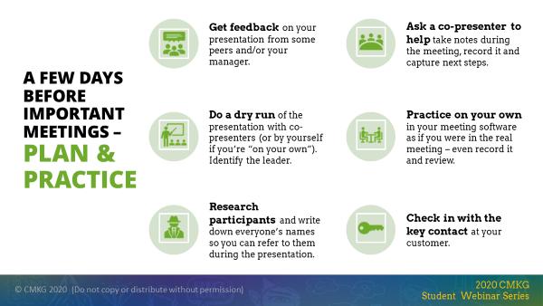 Prep checklist before your next virtual meeting
