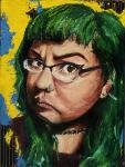 C Self portrait