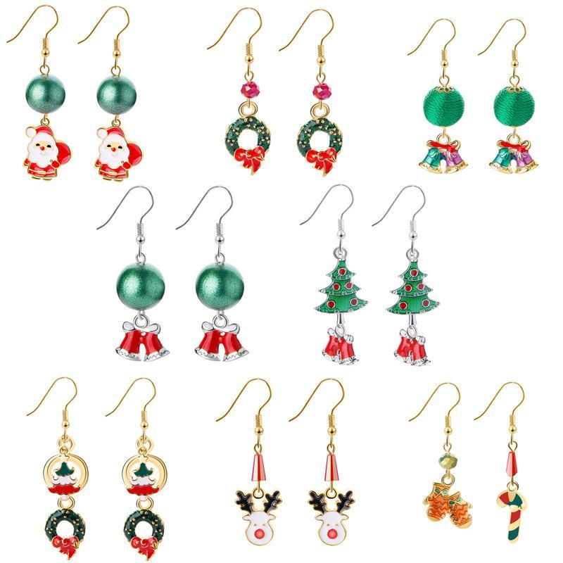 Christmas Eve Dangle Earrings
