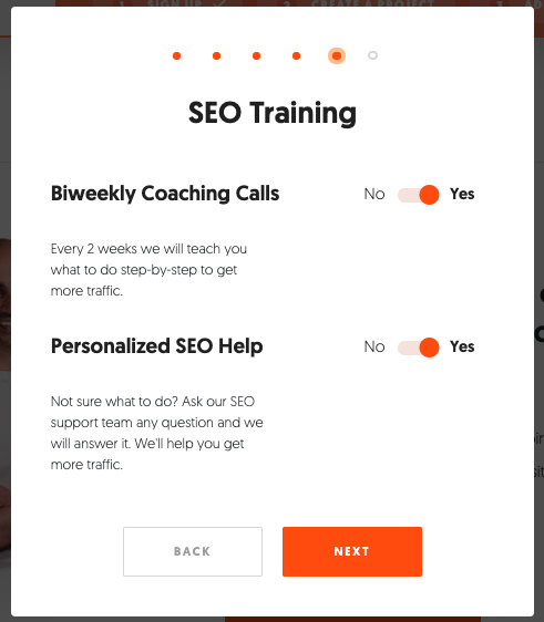 Ubersuggest SEO training