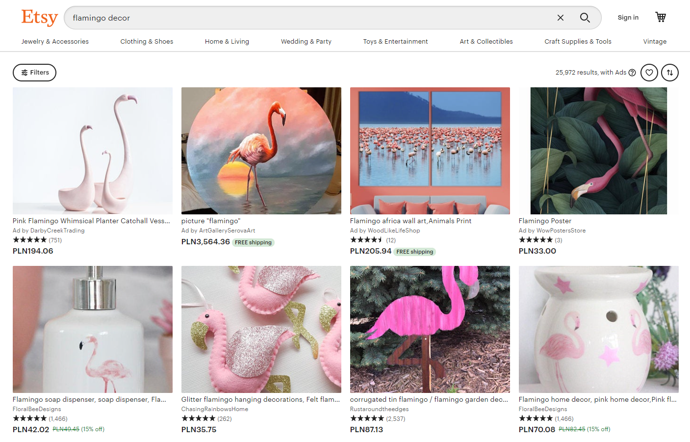 When you research Etsy keywords, you may learn that different words preform better.