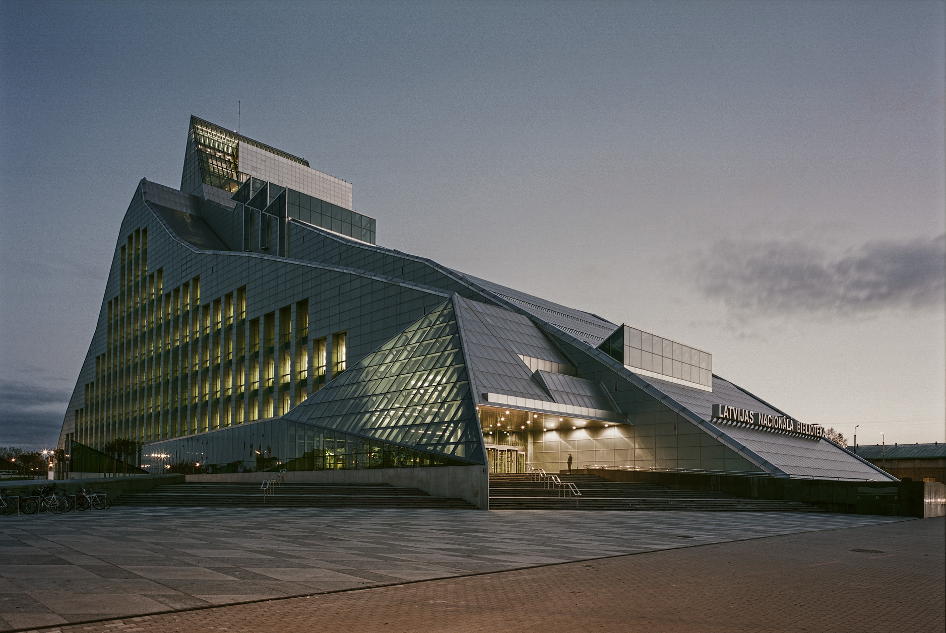 National Library of Latvia, Location of ELAG 2020; Photograph by Indrikis Sturmanis