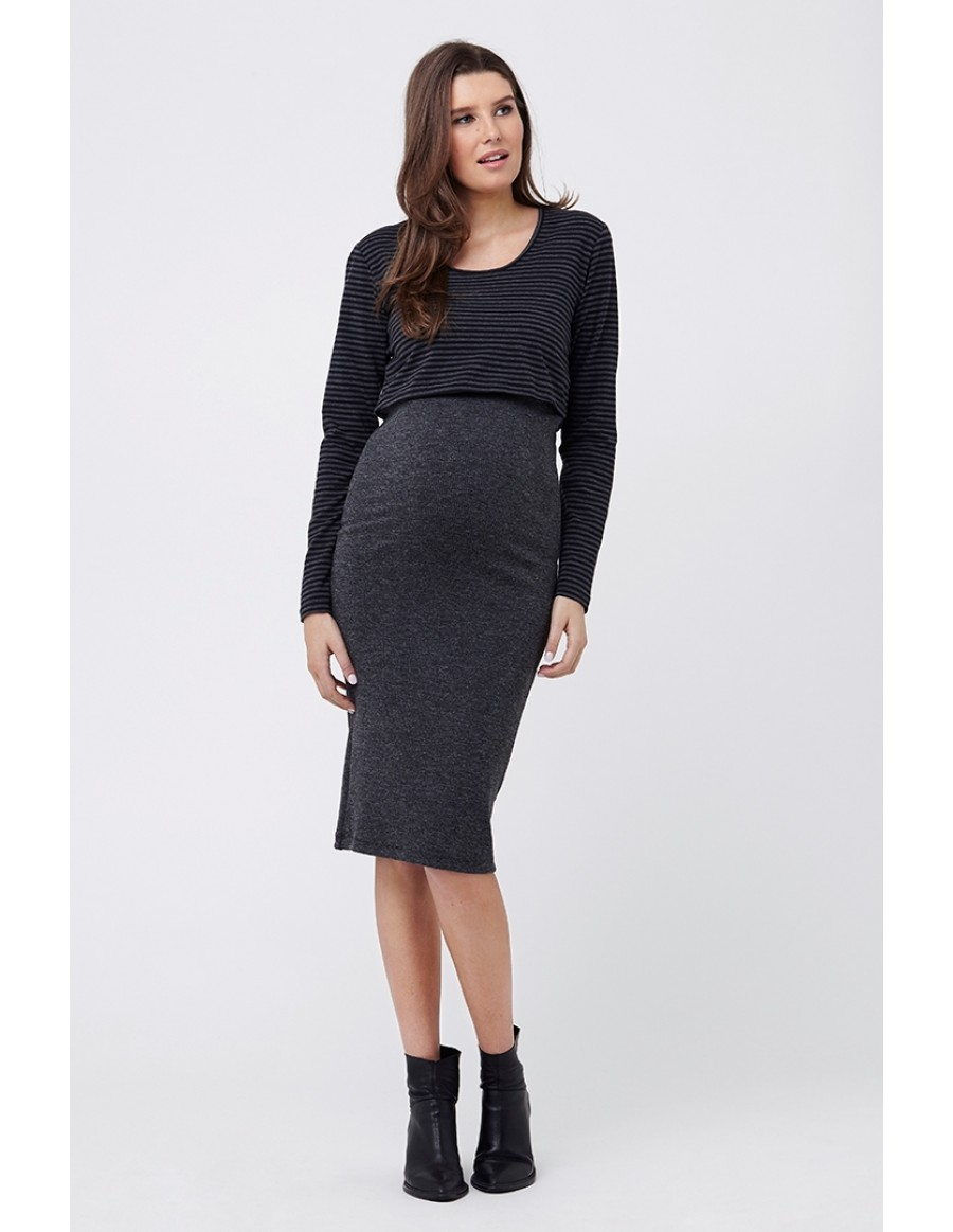 85c4be28743f8 Oftentimes, maternity outfits for winter involve mixing and matching chic  separates in your wardrobe, and these skirts are a great staple to have on  hand.