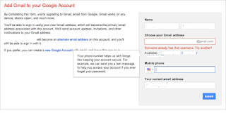 I can't sign in to my gmail account  When I search for gmail