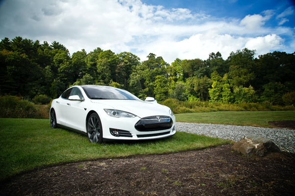 The Tesla Model S maintains its sales value well.