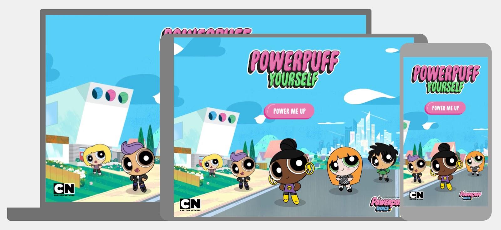 Powerpuff Yourself homepage