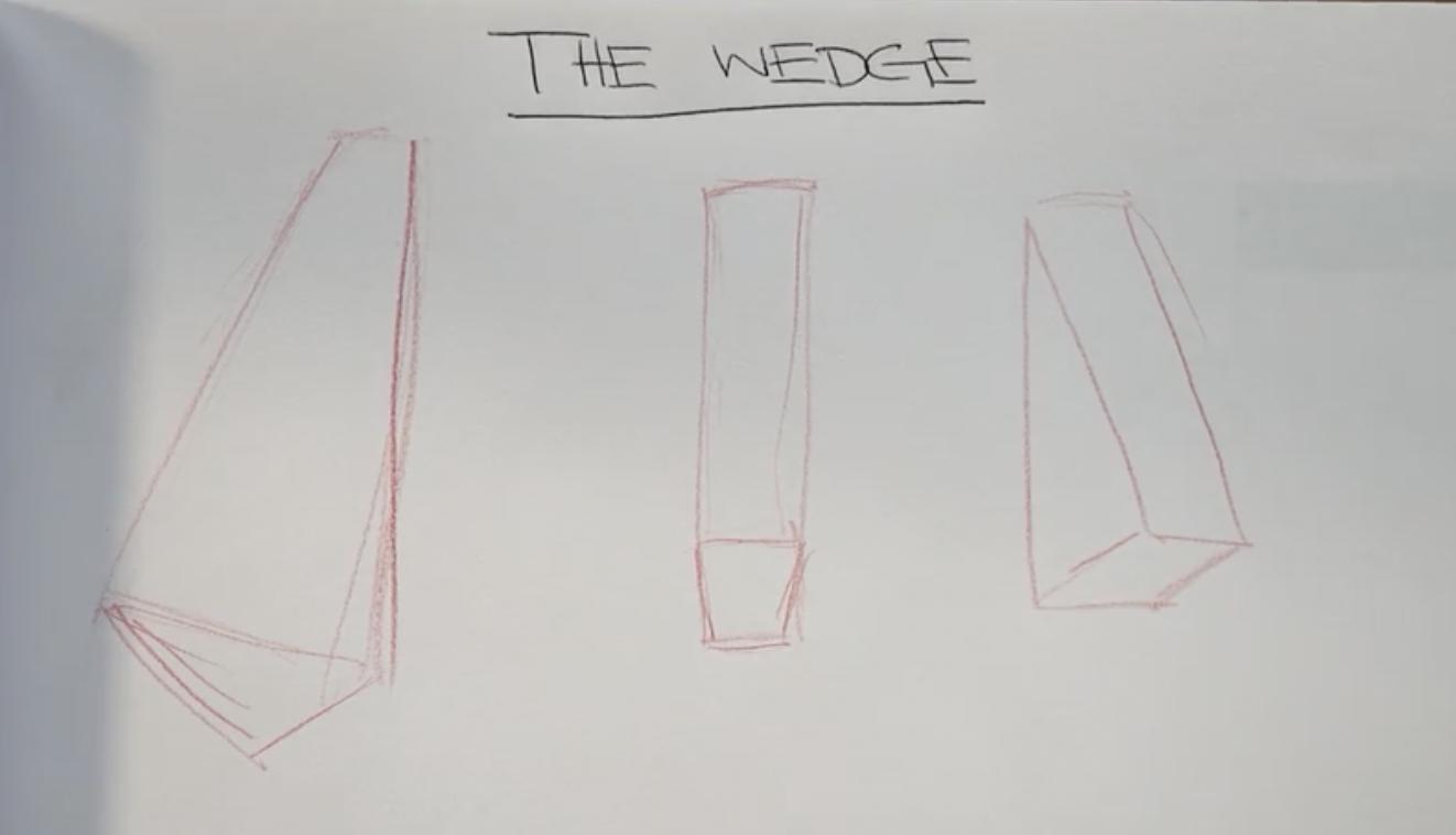 3d wedges