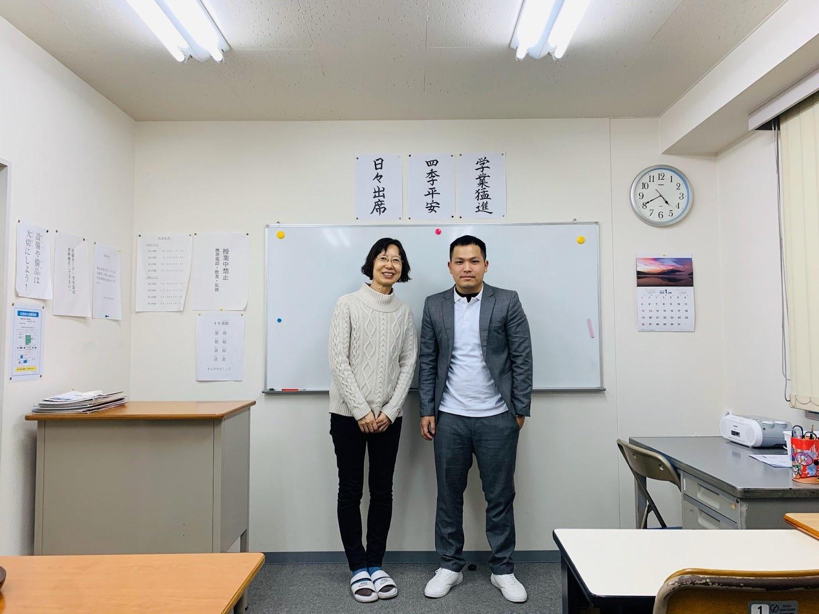 Javico đến thăng Trường Nhật ngữ IECC